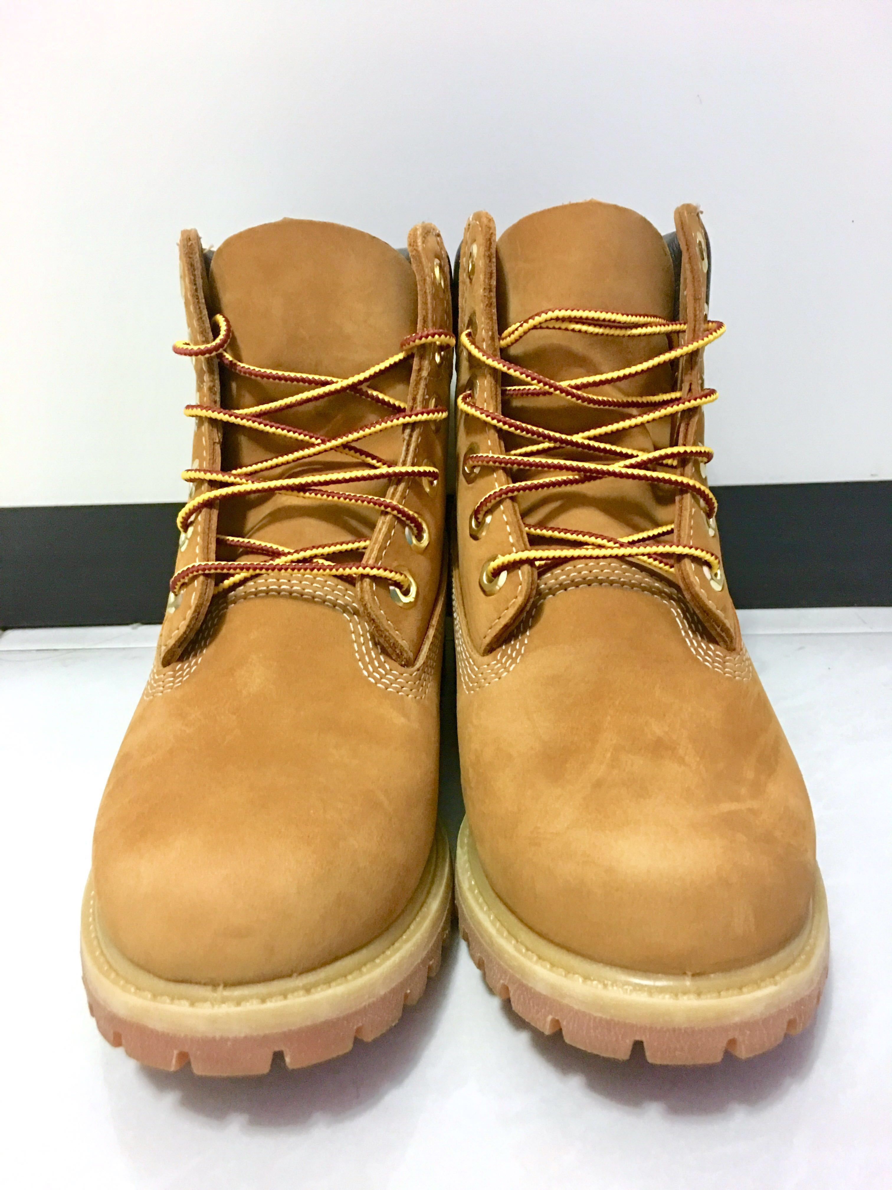 f174c7fd630 Timberland 6 Inch Premium Boots (Wheat Nubuck)