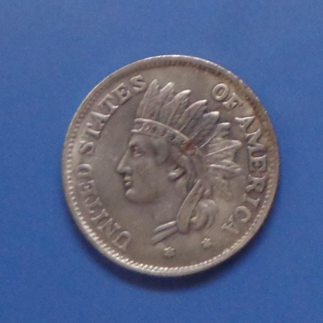 USAIndian Head Dollar 1851 REPLICA on Carousell