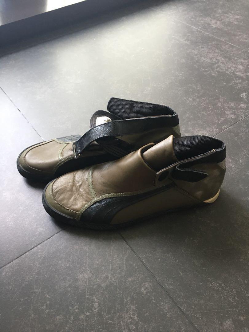 404f32e229e Vintage Puma Sales man sample shoes size UK 8
