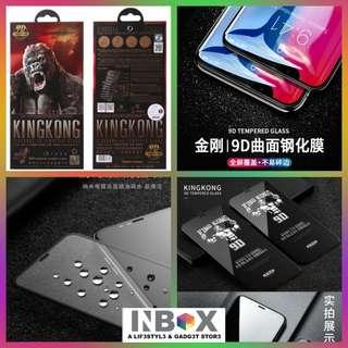 🚚 WK KINGKONG 9D Curved Edge Tempered Glass Screen Protector