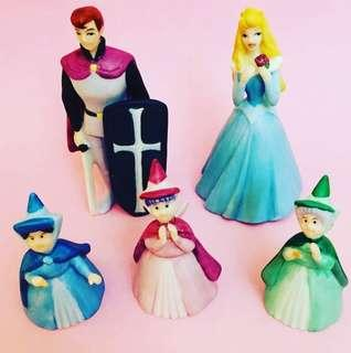 Disney Sleeping Beauty Ceramic Figure Set