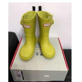 🚚 全新)Hunter赫特威靈頓靴 正版雨靴.UK7