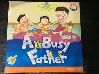 """好書推介: """"A Busy Father"""" by Longman"""