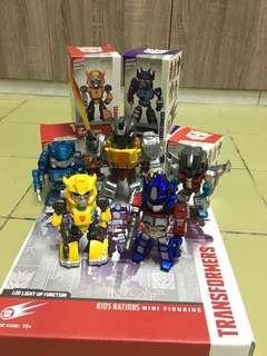 Mini transformers figure