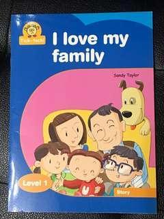 """好書推介:""""I Love My Family"""" by Oxford 幼兒圖書"""