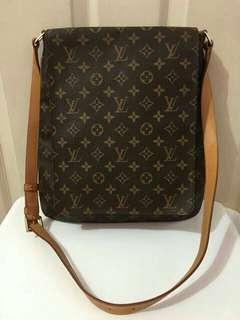 Louis Vuitton Musette Salsa GM Monogram  Available / Long strap