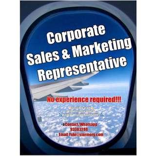 (No Experience required) Corporate Sales & Marketing