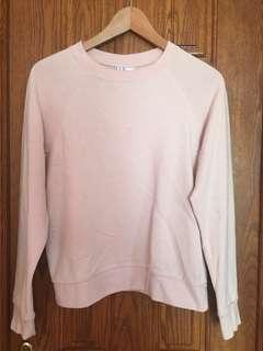 HM Crewneck Sweater Blush