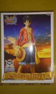 全新 One piece Bandai 眼鏡廠限定版 The New World Figure