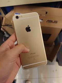 Apple iphone6 64g 金色