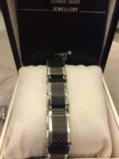 Mont Blanc bracelet steel
