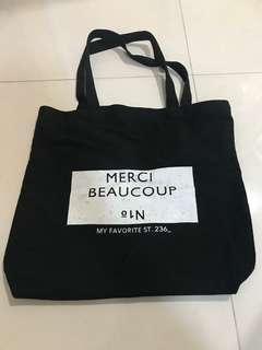SSUNNY休閒字母單肩包(環保袋)