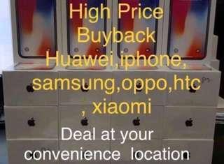 High price buyback new and used phone