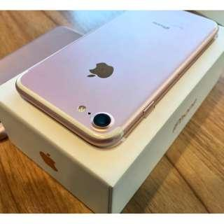 iPhone 7 128gb Rosegold Factory Unlocked