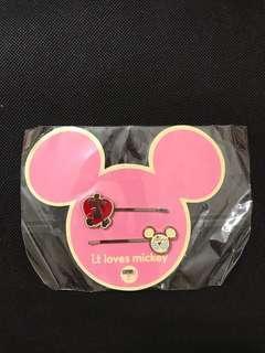 Disney Mickey Mouse Bobby Pins 米奇老鼠扁髮夾