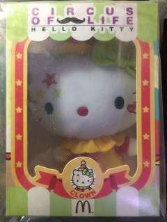 Hello Kitty 小丑公仔 100% 全新