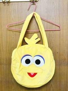 🚚 *二手 芝麻街-可愛的 big bird包包