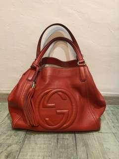 Beautiful Roomy Authentic Gucci Bag