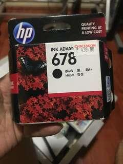 HP 678 Black Ink Cartridge New