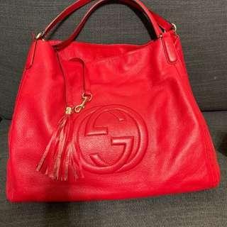 🚚 大 GC logo (可換包)美包 小羊皮 軟包