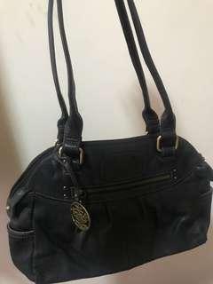 Colorado Black Leather Bag Original