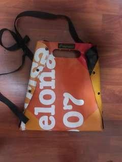 Barcelona Unique Artsy Bag (plastic/tarp)