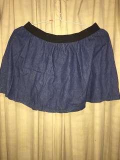 Cotton on jeans skirt
