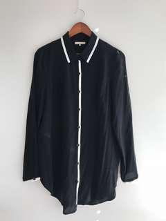 Oak + Fort Silk Shirt
