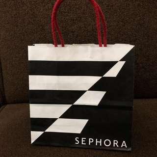 Sephora small paperbag