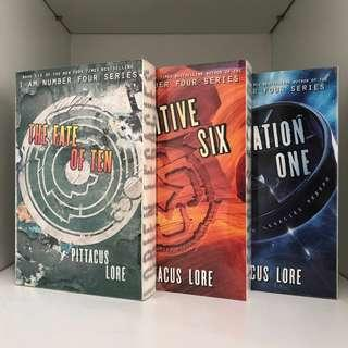 [BN] Lorien Legacies: Generation One, Fugitive Six, The Fate of Ten