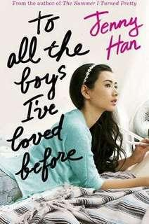 [PO] TO ALL THE BOYS I'VE LOVED BEFORE TRILOGY - JENNY HAN