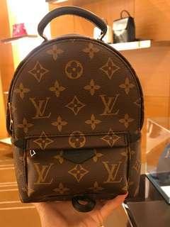 💯 Authentic Louis Vuitton Mini Palmspring Backpack Monogram Canvas