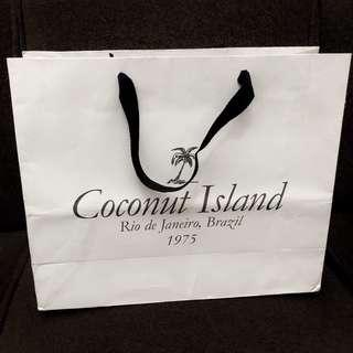 Coconut Island paperbag