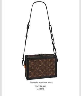 Louis Vuitton X Virgil Abloh MONOGRAM SOLAR RAY Soft Trunk