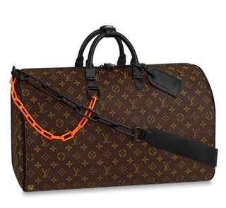 Louis Vuitton X Virgil Abloh MONOGRAM SOLAR RAY Keepall 50B