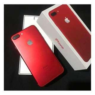 IPhone 7Plus 256gb Red edition Factory Unlocked.