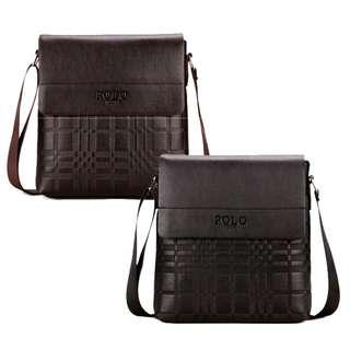 Perfect Polo Zone Man Smart Casual Cross Body Messenger Bag
