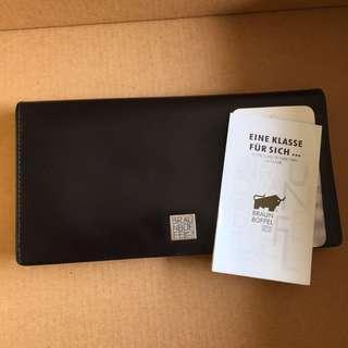 Braun buffel authentic wallet