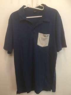 Oakley Shirt Size M - Dark Blue