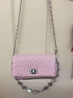 Baby Pink Sling Bag pre loved