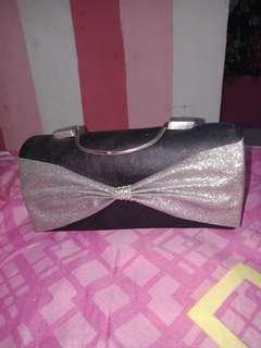 Clutch & slingbag black