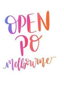 OPEN PO MELBOURNE