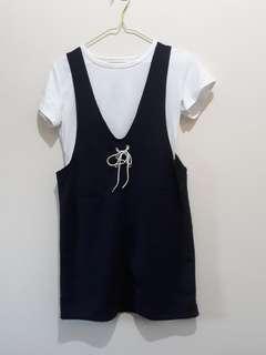 Navy Blue Jumper Skirt