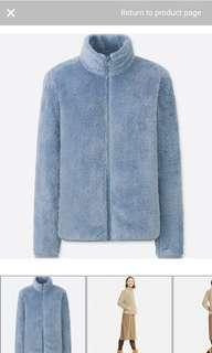 uniqlo blue fleece
