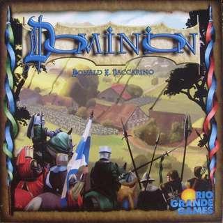 Dominion 1st edition board game