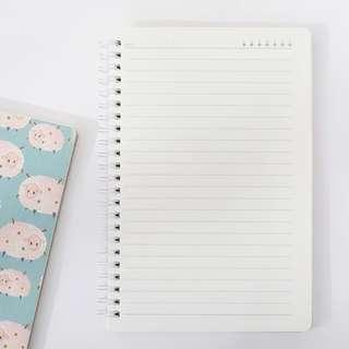 Sheeps Everywhere Spiral Ruled Notebook B5
