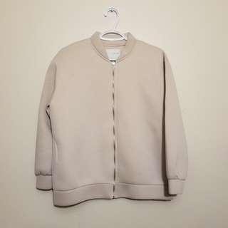 Oak fort neoprene bomber jacket
