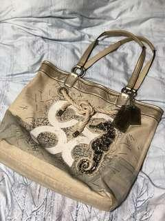 Coach Seahorse Tote Bag