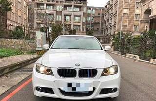 BMW 320I 稀有白 09年 超貸 過件率99%