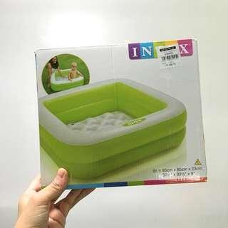 Intex Inflatable Square Pool in Green